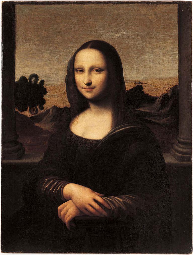 Más juvenil, la llamada Mona Lisa de Isleworth es considerado una copia de La Gioconda, aunque también se discute si pudo ser una versión anterior del famoso cuadro del Louvre