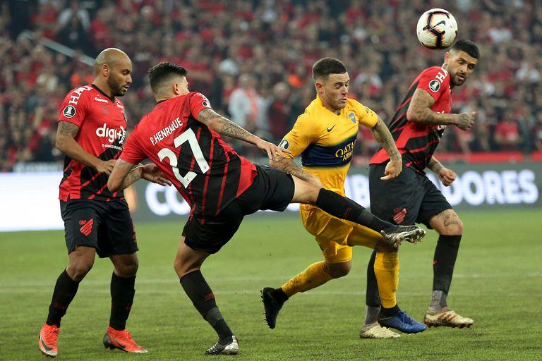 Nandez jugó un partidazo y habló por primera vez de su adiós a Boca
