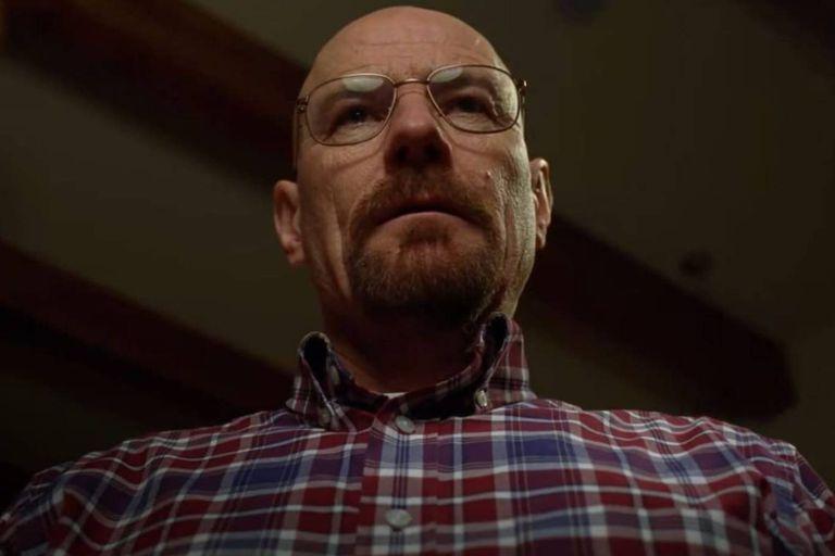 Walter White, el protagonista de la serie Breaking Bad