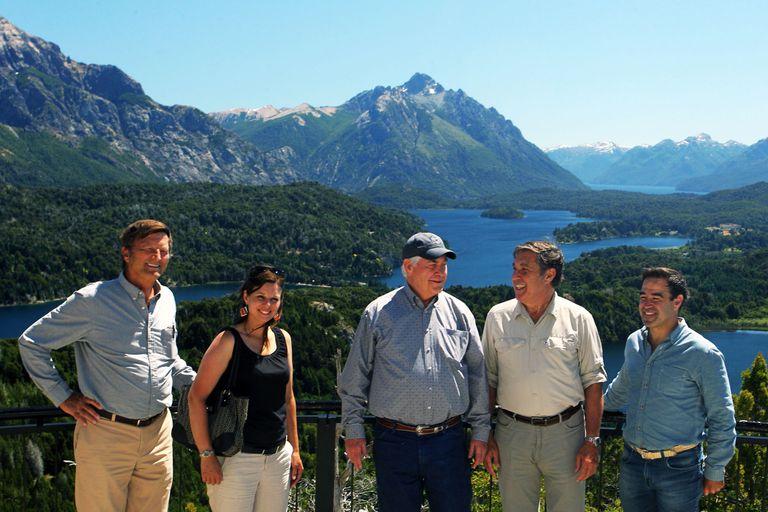 Rex Tillerson pasó su primer día en el país recorriendo Bariloche