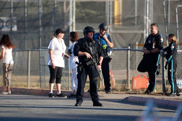 El hombre que atacó al público de la feria fue abatido por la Policía