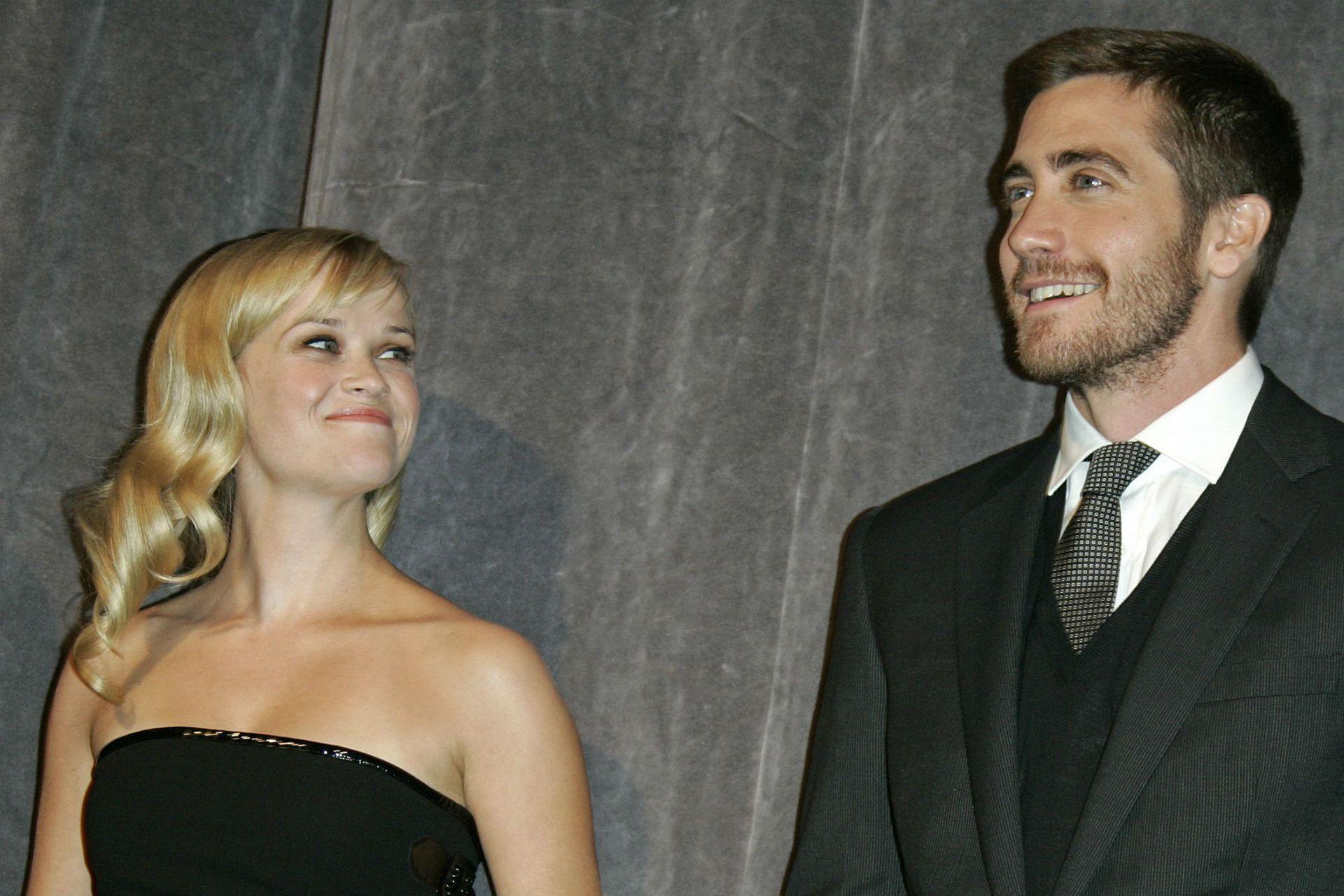 Reese y Jake Gyllenhaal se conocieron en el rodaje de El sospechoso