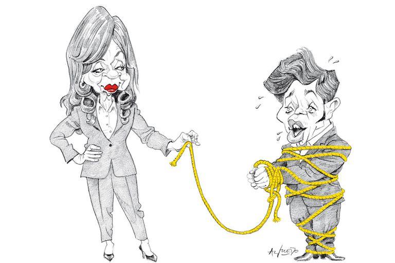 El vínculo entre Cristina Kirchner y Axel Kicillof, deshilachado por la derrota