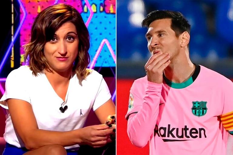 La intérprete española rememoró su frustrado encuentro con el futbolista en una discoteca de Barcelona