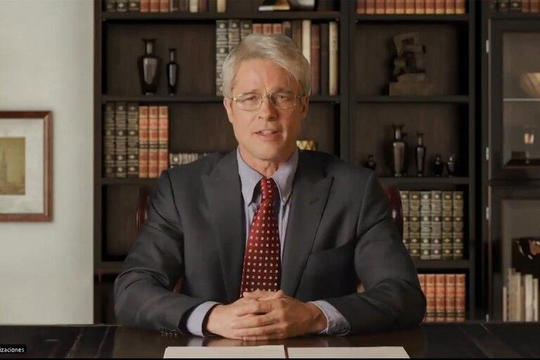 El actor representó al prestigioso inmunólogo Anthony Fauci, quien corrigió en varias ocasiones las declaraciones falsas del mandatario respecto de la enfermedad