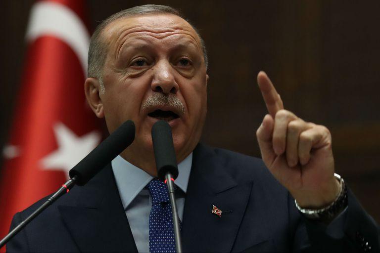 El presidente de Turquía Recep Tayyip Erdogan