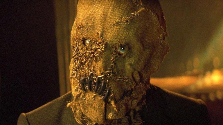 El espantapájaros, siniestra criatura del Batman de Christopher Nolan