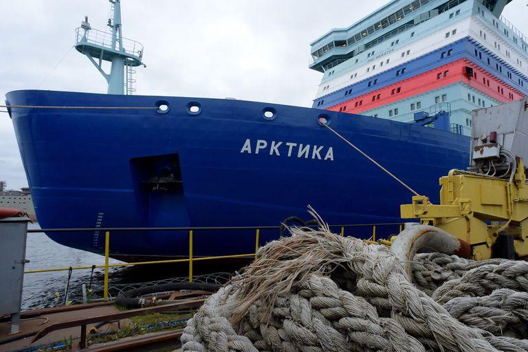 Su primer destino es el puerto ártico de Murmansk