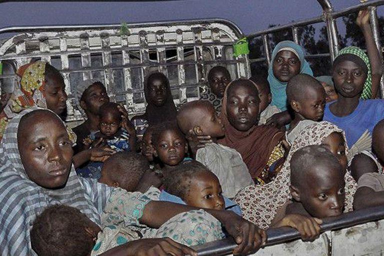 El Ejército nigeriano logró liberar a más de 700 mujeres y niños la semana pasada en una ofensiva contra el grupo islamista Boko Haram