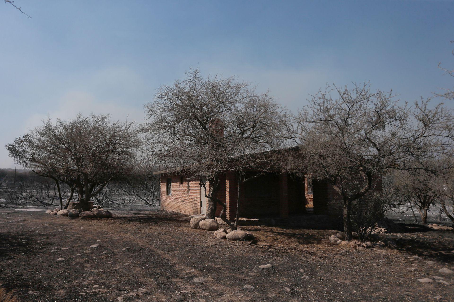 Hoy los bomberos continuan trabajando contra el fuego en la zona de Capilla del Monte y en un extenso sector colindante a las ciudades de Cosquín, Bialet Massé, Santa María de Punilla, Comuna de San Roque y La Calera.