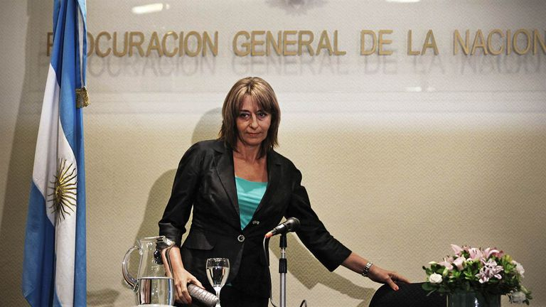Alejandra Gils Carbó presentó hoy su renuncia