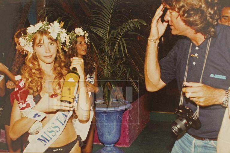 Pancho, con su cámara al cuello, registró todo el evento