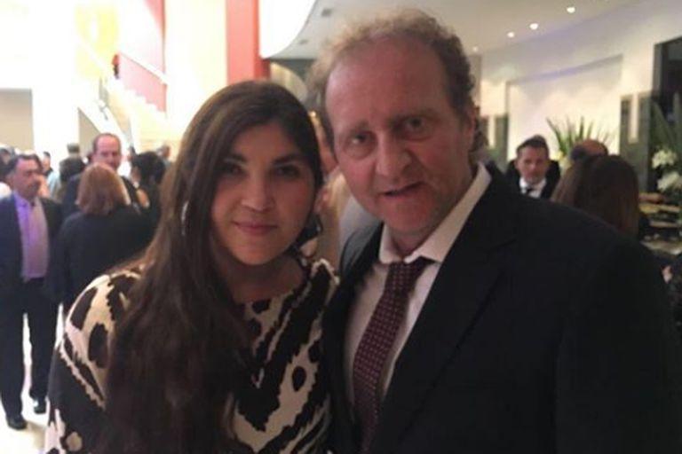 El periodista deportivo estaba en pareja hacía trece años con Nancy, una organizadora de eventos con quien tuvo dos hijas.