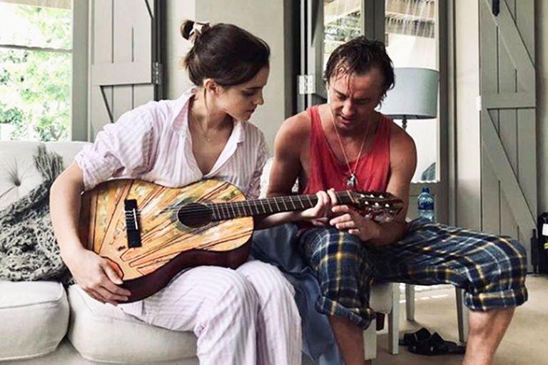 Emma Watson y Tom Felton: la foto que desata rumores de romance