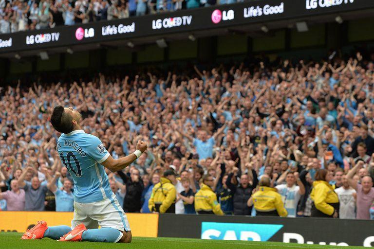 Con un golazo del Kun Agüero, Manchester City goleó al Chelsea de Mourinho