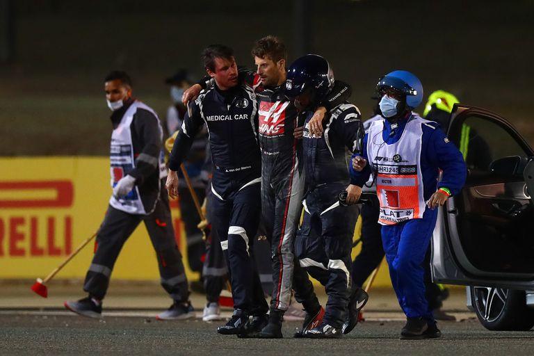 El piloto del Auto Médico que fue héroe y se queda afuera de la Fórmula 1 por el Covid