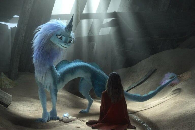 Raya y el último dragón se presentará en salas y con costo adicional, en Disney +