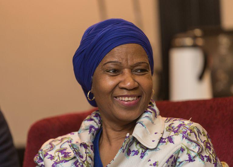 La titular de la entidad de Naciones Unidas, Phumzile Mlambo-Ngcuka, vino para abrir una oficina en Buenos Aires y para participar del W20