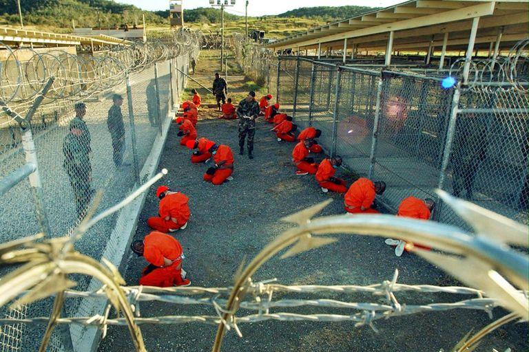 Una imagen de la cárcel de Guantánamo