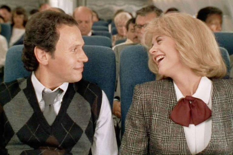 Un clásico. Billy Crystal y Meg Ryan en el segundo encuentro entre Harry y Sally en la película de Rob Reiner