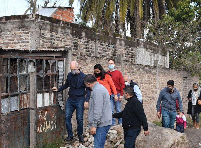 Larreta busca sumar votos peronistas en las villas del conurbano