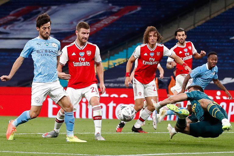 Un argentino en la final de la Copa FA: Arsenal eliminó al City de Guardiola