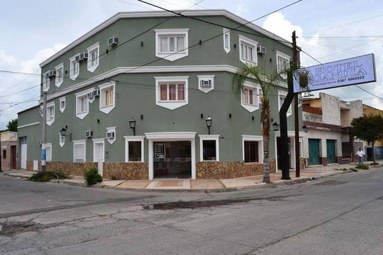 El hotel Gandía, en la ciudad de Salta, tiene 21 habitaciones y será destinado a alojar a posibles portadores de coronavirus