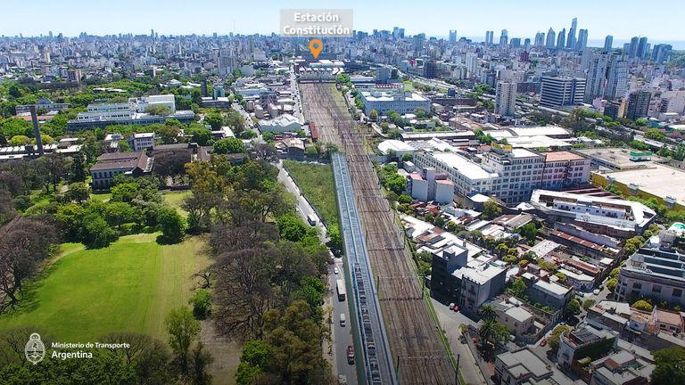 US$115 millones. Adjudican la obra del viaducto Belgrano Sur hasta Constitución