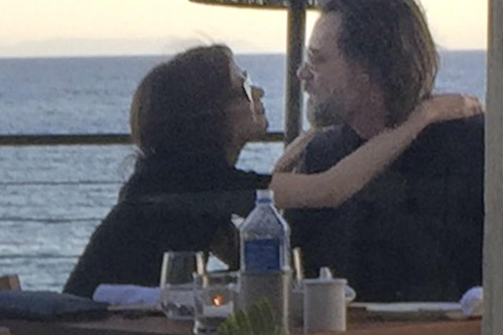 Una de las últimas fotos de la pareja antes de la tragedia
