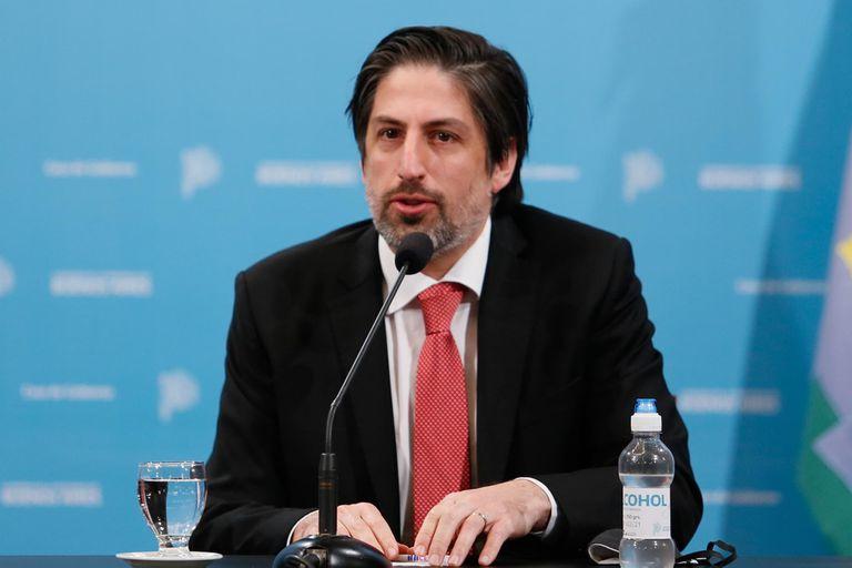 El ministro de Educación, Nicolás Trotta, está en tercer lugar con el 42,9%