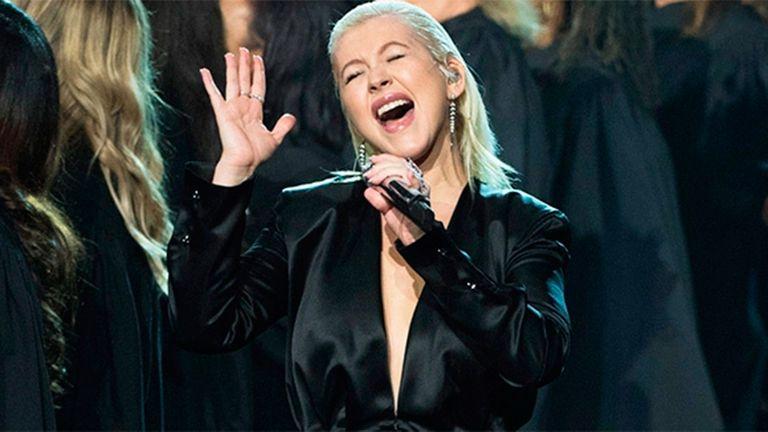 Aguilera y su homenaje a Whitney Houston