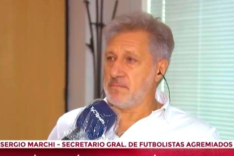 Coronavirus: el titular de Futbolistas Agremiados lloró en una entrevista en TV