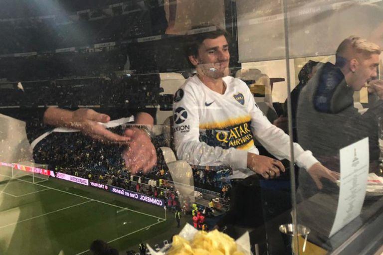 Griezmann, el delantero francés que se ilusionó con ver a Boca campeón