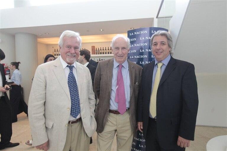 Roberto Tizado, Eduardo Zorraquín e Iván Achaval