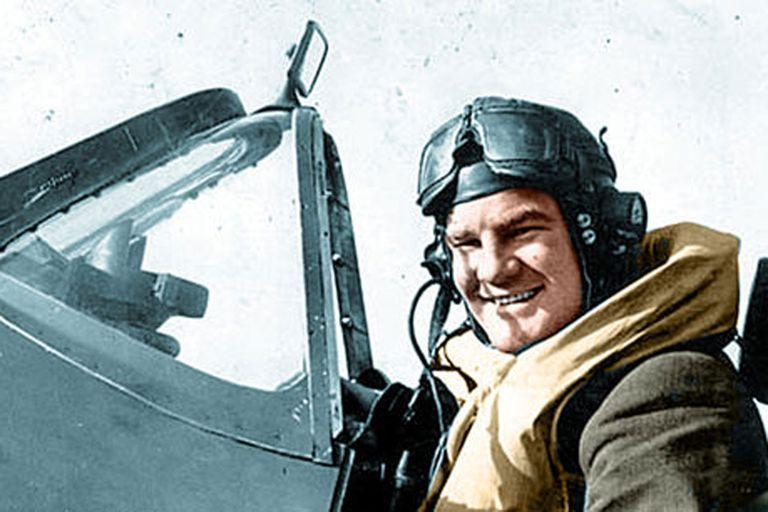 Alan Deere, piloto de la RAF