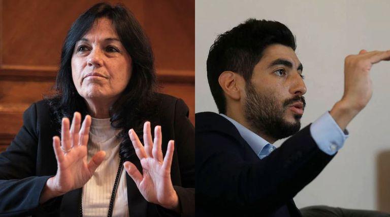 Vilma Ibarra y Facundo Moyano protagonizaron un cruce en Twitter