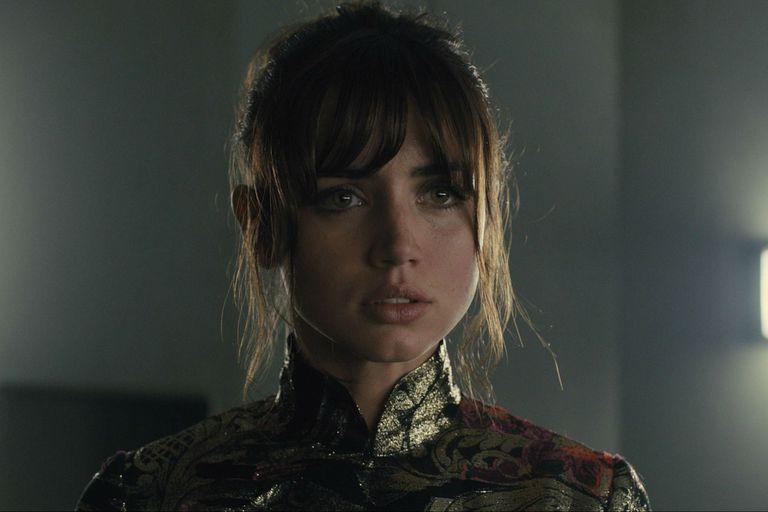 Ana de Armas en Blade Runne 2049. Ella es la actriz que podría interpretar a Marilyn.