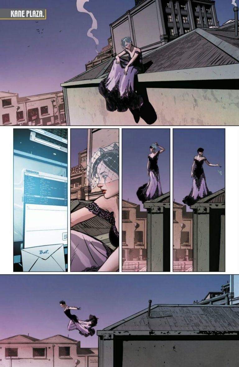 Selina Kyle renuncia al amor de su vida porque teme que la felicidad de la pareja hará que desista de combatir el crimen en Ciudad Gótica