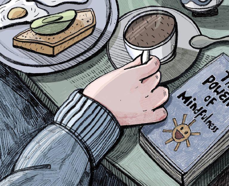 Desayuno silencioso. La práctica que puede generar un bienestar inesperado