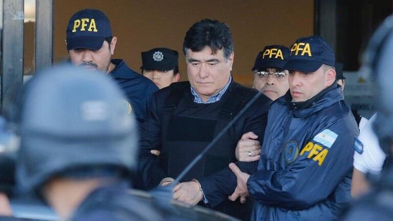 Carlos Zannini, ex secretario de Legal y Técnica de Presidencia, fue detenido ayer en Río Gallegos; llegó esta mañana a Aeroparque