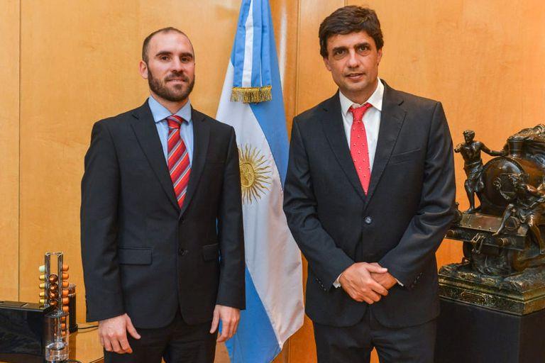 Transición. El tema excluyente del primer encuentro entre Guzmán y Lacunza