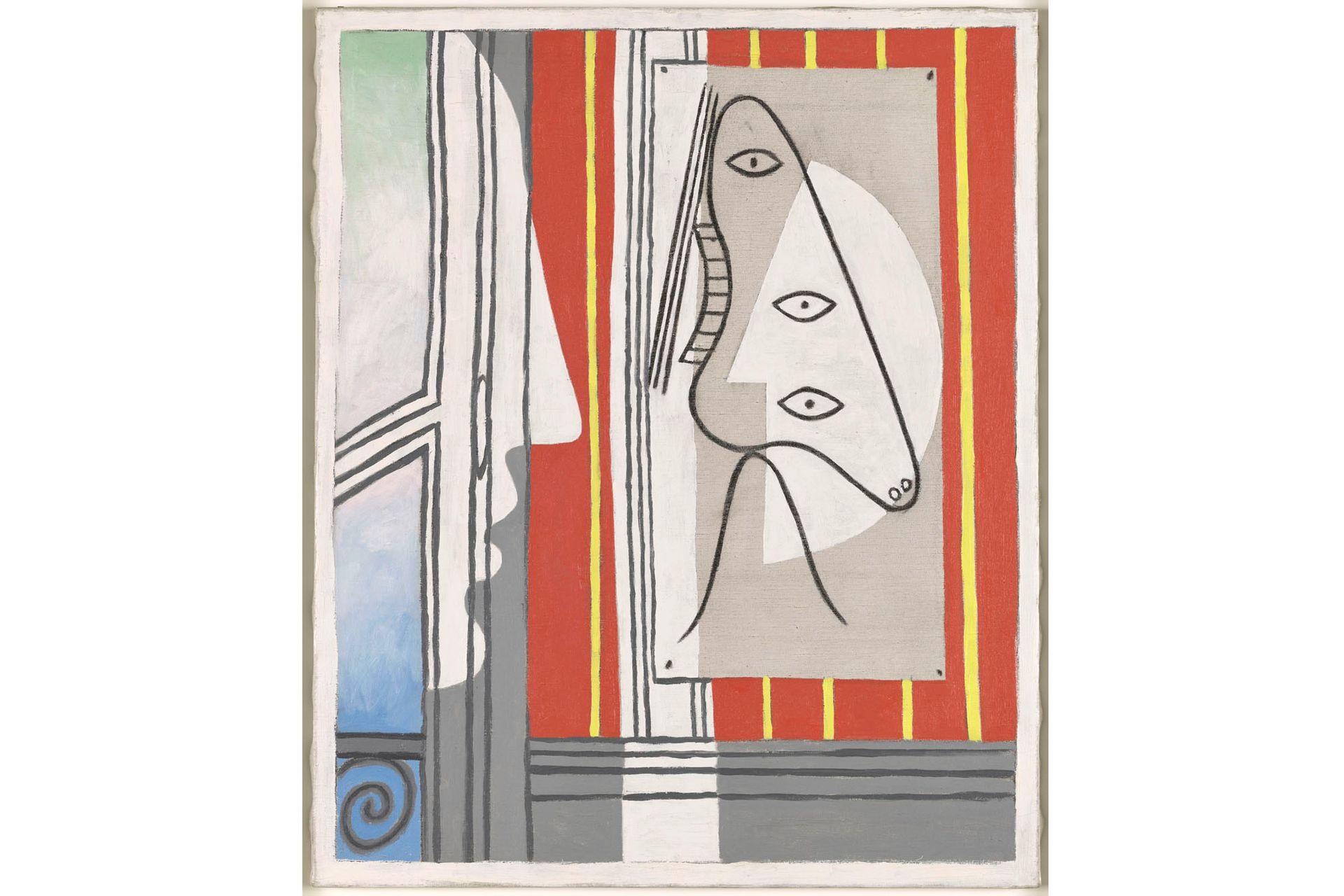 """""""Figura y perfil"""", Pablo Picasso"""