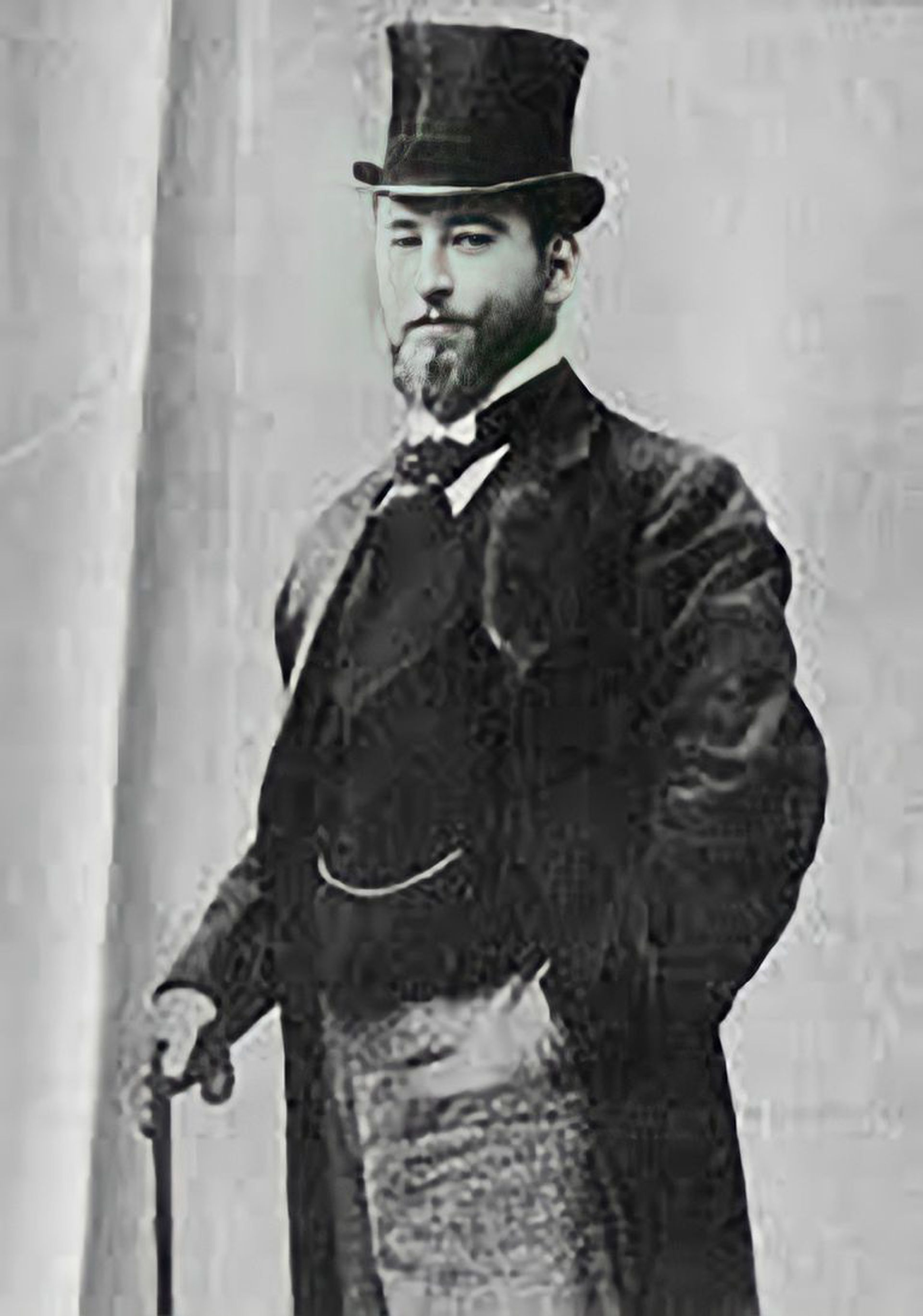 Carlos Villatte Olaguer, el dandy que  donó la propiedad en 1918.