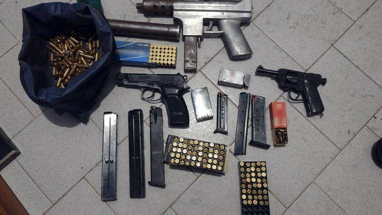 Gendarmería incautó una ametralladora en la villa 1-11-14