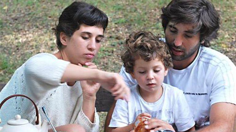 Paula Díaz y Pedro Ortíz Mugica tuvieron a Felipe, de 3 años, cuando ella tenpia 22 y él 24