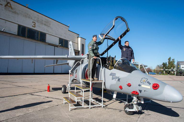 El avión Pampa III