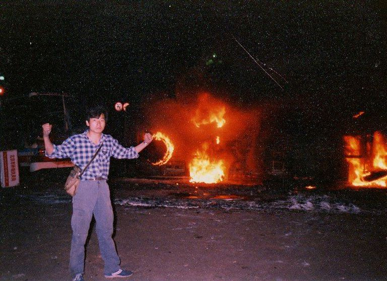 Yang, cuando comenzó la represión en la madrugada del 5 de junio de 1989