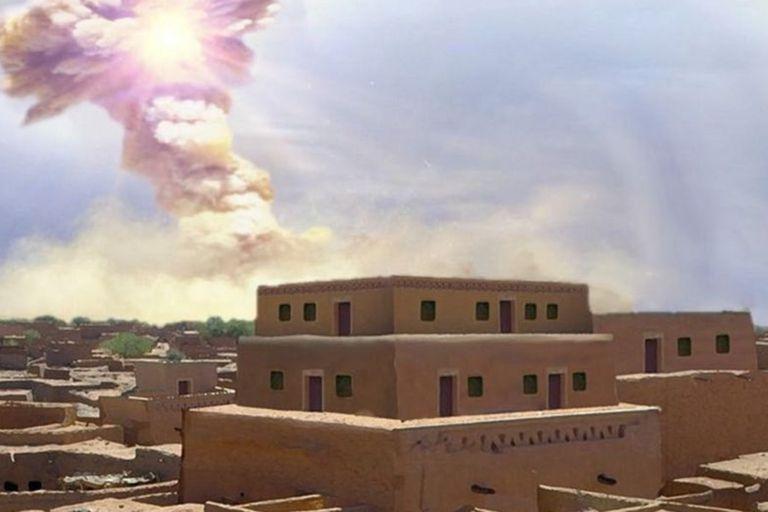 El meteorito que devastó una ciudad y pudo haber inspirado la leyenda de Sodoma y Gomorra
