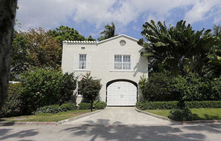 La casa que perteneció a Capone durante casi dos décadas