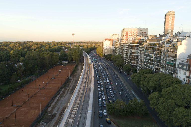 El viaducto Mitre en números: tiene 3,9 kilómetros de extensión